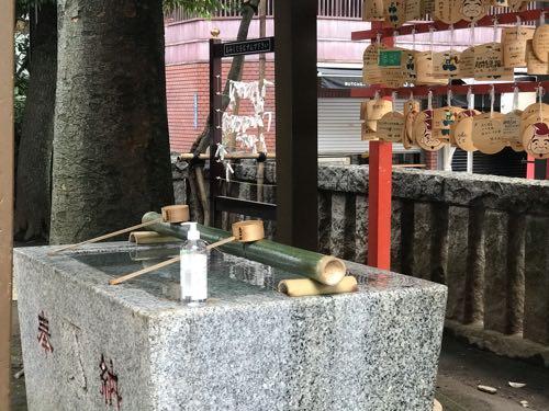 恵比寿神社 手水